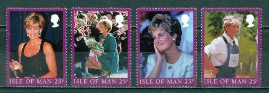 Isle of Man #793a-d Singles  MNH  Scott $4.00
