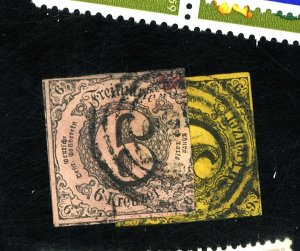Thurn & Taxis #45-6 Used FVF Cat$29