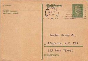 Germany, Government Postal Card