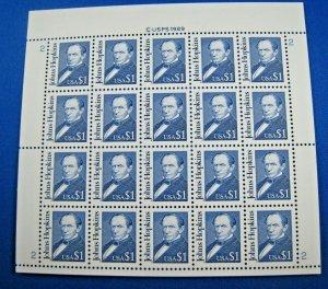 UNITED STATES 1989 - SCOTT #2194  $1 PANE OF 20  MNH
