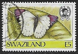 Swaziland # 517 - Queen Purple Tip - used....{BRN17}