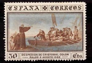 SPAIN Scott 427 MH* 1930 Columbus stamp