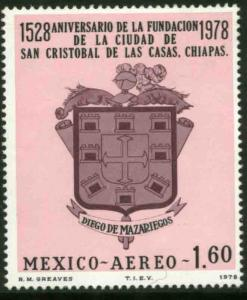 MEXICO C558 400th Anniv of San Cristobal de las Casas MNH