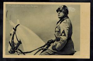 1937 Berlin Germany Benito Mussolini state visit Real Picture postcard Cover 9