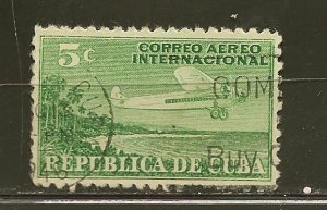 Cuba C4 Airmail Used