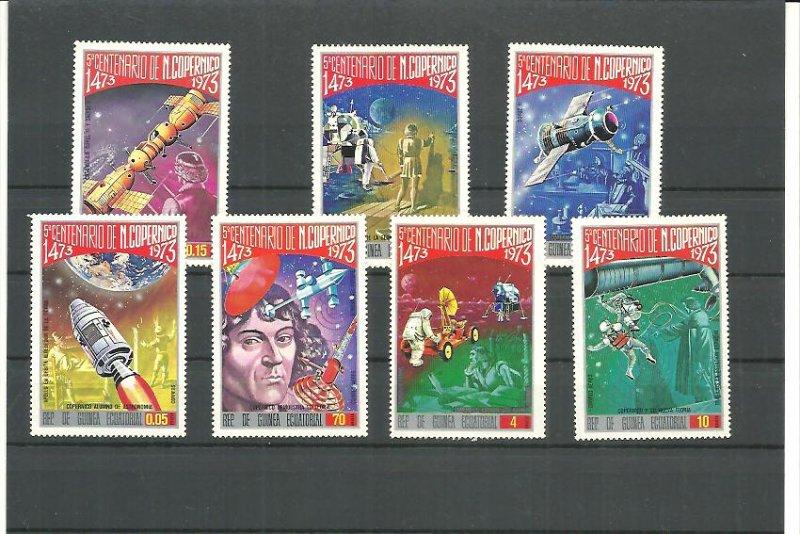 Equatorial Guinea MNH Set Of 7 Copernicus Space