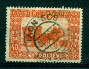 Bosnia & Herzegovina 1910 #56 U SCV(2020)=$3.75
