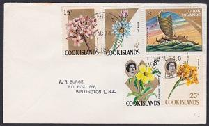 COOK IS 1974 cover to NZ - MANIHIKI cds....................................87730