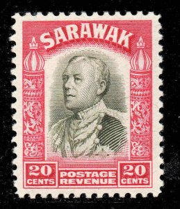 Sarawak 1934 KGV  20c SG 116 mint