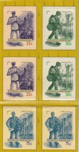 Argentina #2051a MNH Booklet Pane CV $21.00  (Z7182)