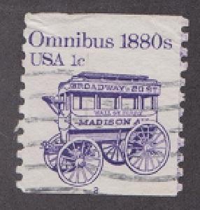 US #1897 Omnibus Used PNC Single plate #2