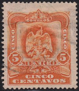 Mexico 307 Hinged Used 1903 Coat of Arms