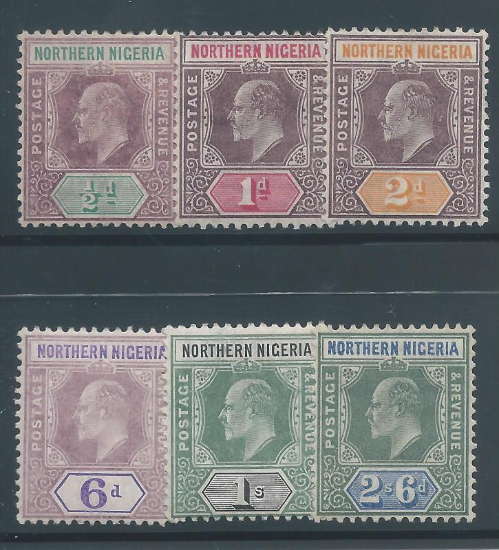 N. Nigeria 19a-21, 24-6a H