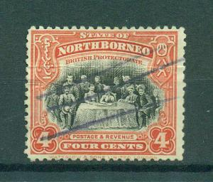 North Borneo sc# 140 used cat value $.30
