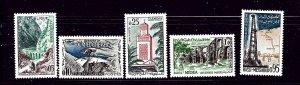 Algeria 291-95 MNH 1962 complete set