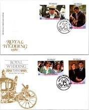 Royalty, Worldwide First Day Cover, Tuvalu