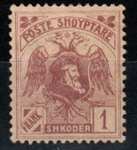 Albania #134 Unissued Without Overprint  (X888)