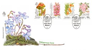 Transkei, Flowers, Worldwide First Day Cover