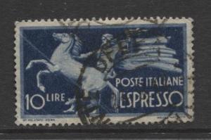 Italy - Scott E20 - Expresso Post -1945 - Used - Single 10 Lira Stamp