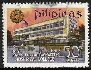 Philippines 1969 Scott# 1018 Used
