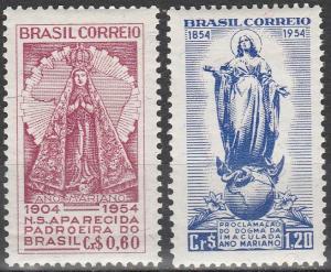 Brazil #805-6  F-VF Unused  (K1530)