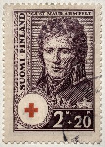 AlexStamps FINLAND #B22 VF Used