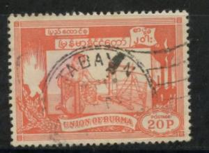 Burma Sct # 145; Used