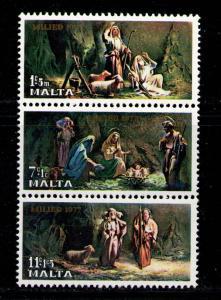 MALTA 1977 MNH SC.B27/B29 Christmas