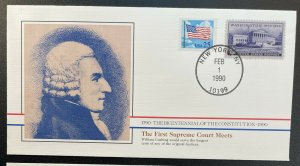 US #2278,991 On Cover - Bicentennial of Constitution 1787-1987 [BIC81]
