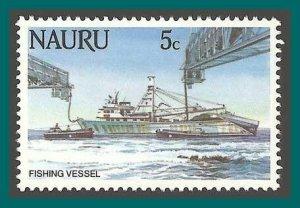 Nauru 1984 Fishing Trawler, 5c MNH  287,SG305