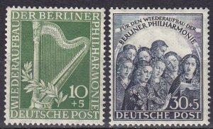 Germany #9NB4-5 MNH CV $110.00 (Z5286)