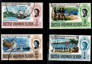 British Solomon Islands Scott 176-179 Used CTO  set