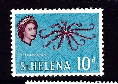St Helena 166 Hinged 1961 Issue