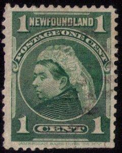 Newfoundland Sc 80 Ylw Green Used VF