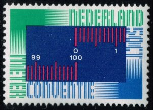 Netherlands #531 Meter Convention; MNH (4Stars)