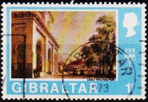 Gibraltar. 1971 1p  S.G.257 Fine Used