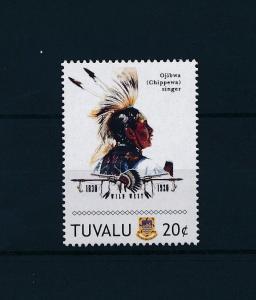 [80918] Tuvalu 2011 Native Americans Indians Ojibwa Singer MNH