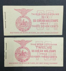 MOMEN: US #BKC2-3 BOOKLET MINT OG NH $24 #25266