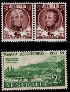 AUSTRALIA  Scott 263-265 MNH** set