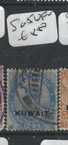 KUWAIT   (PP2704B) ON  INDIA KGV   2A 6P   SG 5     VFU