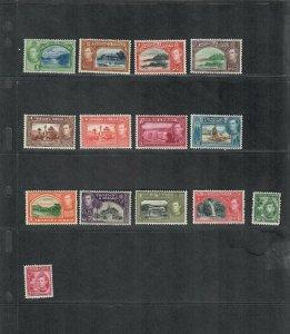 Trinidad+Tobago Sc#50-61 M/LH+NH/VF, Cv. $125