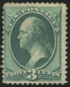 US #147 SCV $200.00 VF mint hinged, super fresh color, nicely centered, CHOIC...