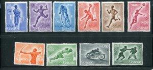 Somalia MNH 221-7,C54-6 Sports