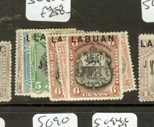LABUAN (B0802) JUBILEE   SG83-8  OG