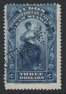 Canada, Yukon (Revenue) van Dam YL12, used