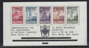 C112 1st Scout Exhibition Quezon CV$6