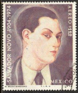 MEXICO C462 In Memoriam Salvador Novo, writer. Used. F-VF. (592)