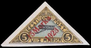 Estonia Scott C3 (1923) Mint NH F-VF, CV $30.00