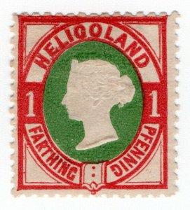 (I.B) Heligoland Postal : Definitive Head 1pf