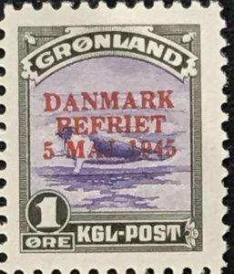 Greenland #19-21 MNH CV$380.00 Harp Seal Overprint [62785]